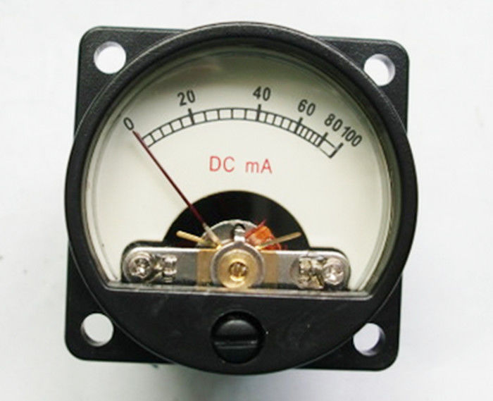 DC 100mA 12 Volt Digital Panel Meter With 28*28mm Mounting Hole Distance