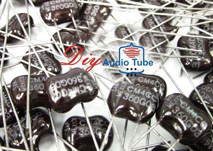 Mini Size High Temperature Capacitors , 36PF 500V Radial Electrolytic Capacitor